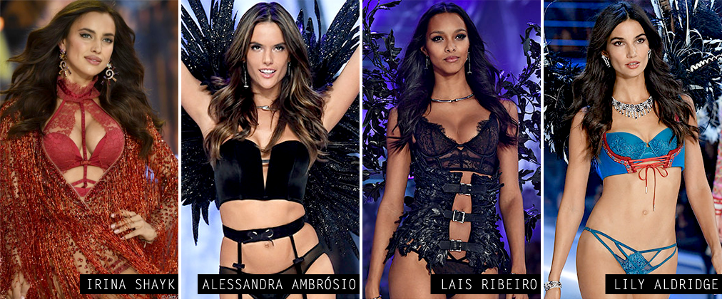 Models Victorias secret fashion show 2016