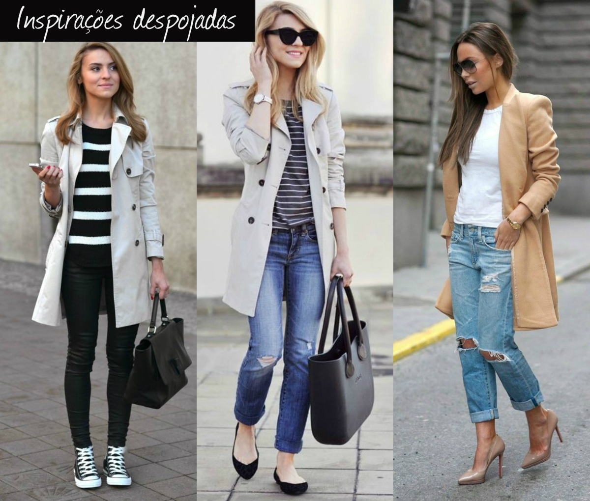 trench coat despojados
